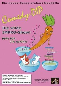 Plakat von Comedy DIP